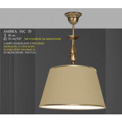 Lampa wisząca 1 płom. Ambra różne abażury S1C 35 S1CM 35 ICARO