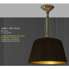 Lampa wisząca 1 płom. Ardo różne abażury S1 35 S1M 35 ICARO