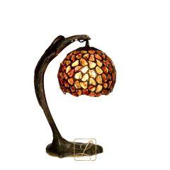 Lampa stojąca Kulka na Orle Bursztyn B10