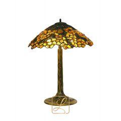 Lampa z ażurem na drzewie Bursztyn B2