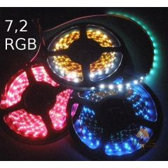Taśma LED 7,2W standard line - RGB multikolor 024-100-10-3 RGB