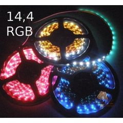 Taśma LED 14,4W - RGB multikolor 024-050-10-3 RGB