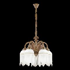 Palermo lampa wisząca 5 płomienna Kutek PAL-ZW-5(P)