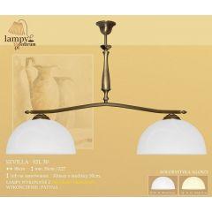 Lampa żyrandol 2 płomienny Sevilla S2L30 ICARO