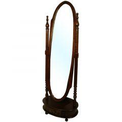 Stylizowane lustro z szufladą Kenny 51989