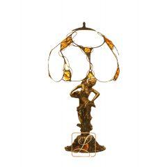 Lampa gabinetowa na nimfie Bursztyn G10
