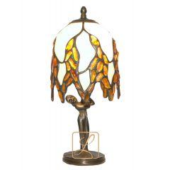Lampa mała wisteria szklana Bursztyn G1-M