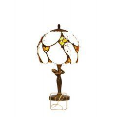 Lampa nocna bursztynowa Bursztyn G5