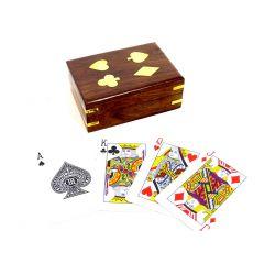 Talia kart w pudełku z palisandru GMS-0153