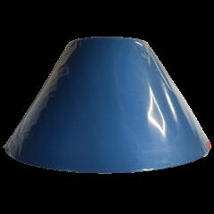 Abażur stożek niebieski 45/20 ART ABAŻUR