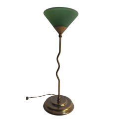 Piorun lampa stołowa 1 płomienna zielona STAREX