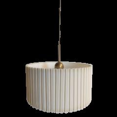 Lampa wisząca z plisowanym abażurem ARTABAŻUR