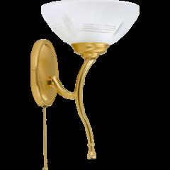 Lampa kinkiet Rovato Kutek ROV-K-1 - mosiądz patynowany ROV-K-1(P)