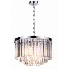 Vetro Lampa wisząca kryształowa 5 płom. chrom Light Prestige LP-2910/5P