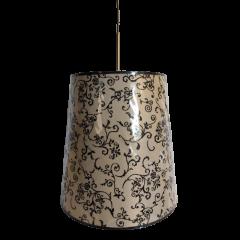 Lampa wisząca 1 płomienna Lombardia ART ABAŻUR