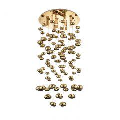 Luvia XL żyrandol złoty Azzardo AZ3073
