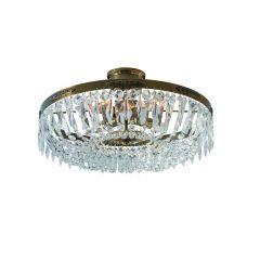 HOVDALA Lampa plafon kryształowy 48 cm patyna MARKSLOJD 100618