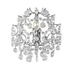 Lampa kinkiet kryształowy ROSENDAL chrom Markslojd 102335