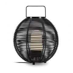 SAGE Lampa stojąca zewnętrzna 1 płom. czarna IP44 MARKSLOJD 107980