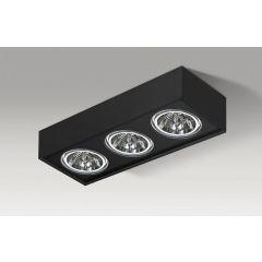 Lampa sufitowa PAULO 3 230V BLACK/BLACK Azzardo AZ2884