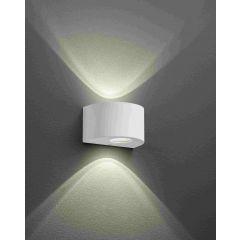Rosario kinkiet zewnętrzny LED biały IP44 RL R28232631