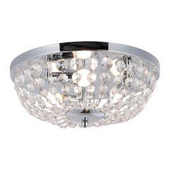 Cosi Lampa plafon kryształowy Ø40 cm 3 płom. chrom Zuma Line RLX94775-3