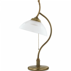 Lampa gabinetowa Rovato Kutek ROV-LG-1 - mosiądz patynowany ROV-LG-1(P)