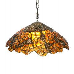 Lampa z ażurem wisząca Bursztyn B4