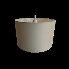Lampa wisząca 1 płomienna ALICE abażur biały