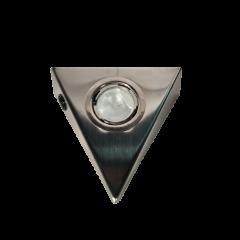 Oprawa podszafkowa Trójkąt I z włacznikiem halogen nikiel satyna 12V 20W MCJ