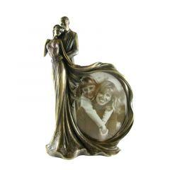 Ramka na zdjęcie ślubne - Figurka Veronese WU74623A4