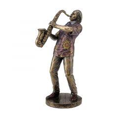 Muzyk jazzowy saksofonista - Figurka Veronese WU77169A5