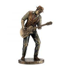 Muzyk jazzowy grający na gitarze - Figurka Veronese WU77180A4