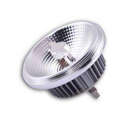 Żarówka LED QR111 12V 3000K 15W 48° G53 chromowana ramka Azzardo AZ1783