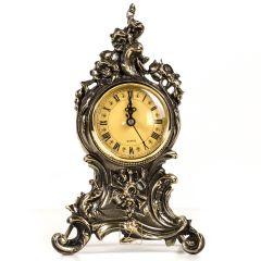 Zegar mosiężny BAROK, doskonała jakość, duży cyferblat