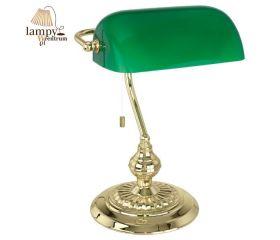 Lampa bankierska BANKER EGLO - mosiądz zielony 90967